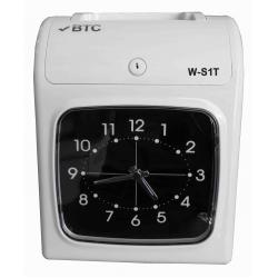 BTC W-S1T 六欄位微電腦打卡鐘*