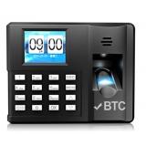 BTC F-3088 彩屏指紋機(無需後台軟體)