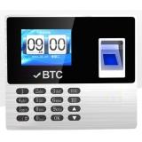 BTC F-3089 彩屏指紋機(無需後台軟體)*
