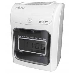 BTC W-S2T 六欄位微電腦打卡鐘